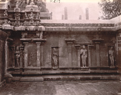 Back elevation of shrine of Nageshvara Temple, Kumbakonam